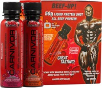 MUSCLEMEDS CARNIVOR LIQUID SHOTS (6 ШТ.)