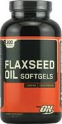 OPTIMUM NUTRITION FLAXSEED OIL (200 КАПС.)